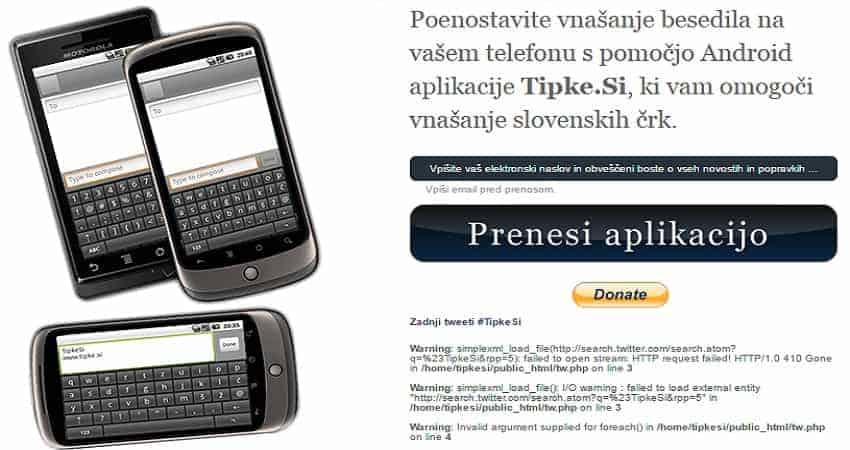 slovenska tipkovnica