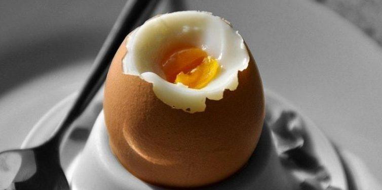 mehko kuhana jajčka