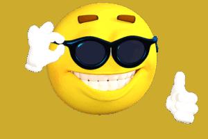 emoticon frajer z očali