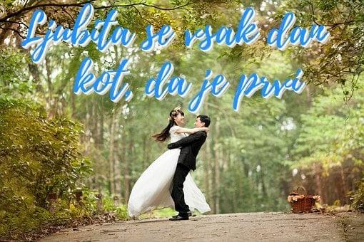 verzi za poroko