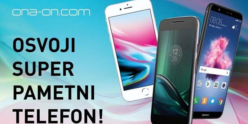 Osvoji super pametni telefon! Sodeluj v mobilnem nagradnem kvizu Ona-on.com