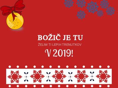 Božična voščila 2019