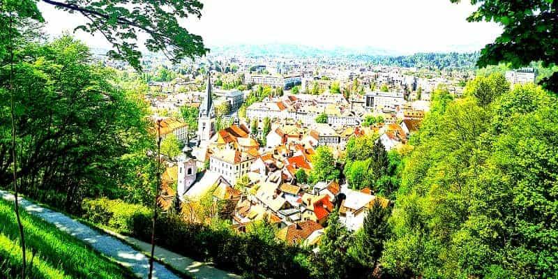 Ljubljana glavno mesto Slovenije