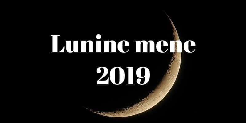 Lunine mene in polna luna 2019