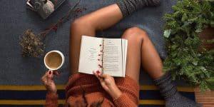 Pozitivne misli jesen branje knjig