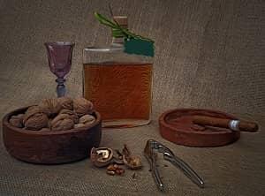 recept za orehovo žganje