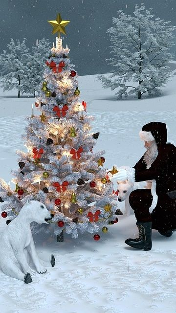 božična ozadja za telefon