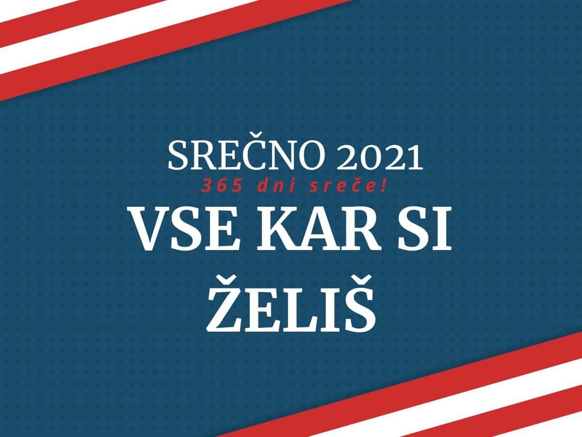 srečno 2021