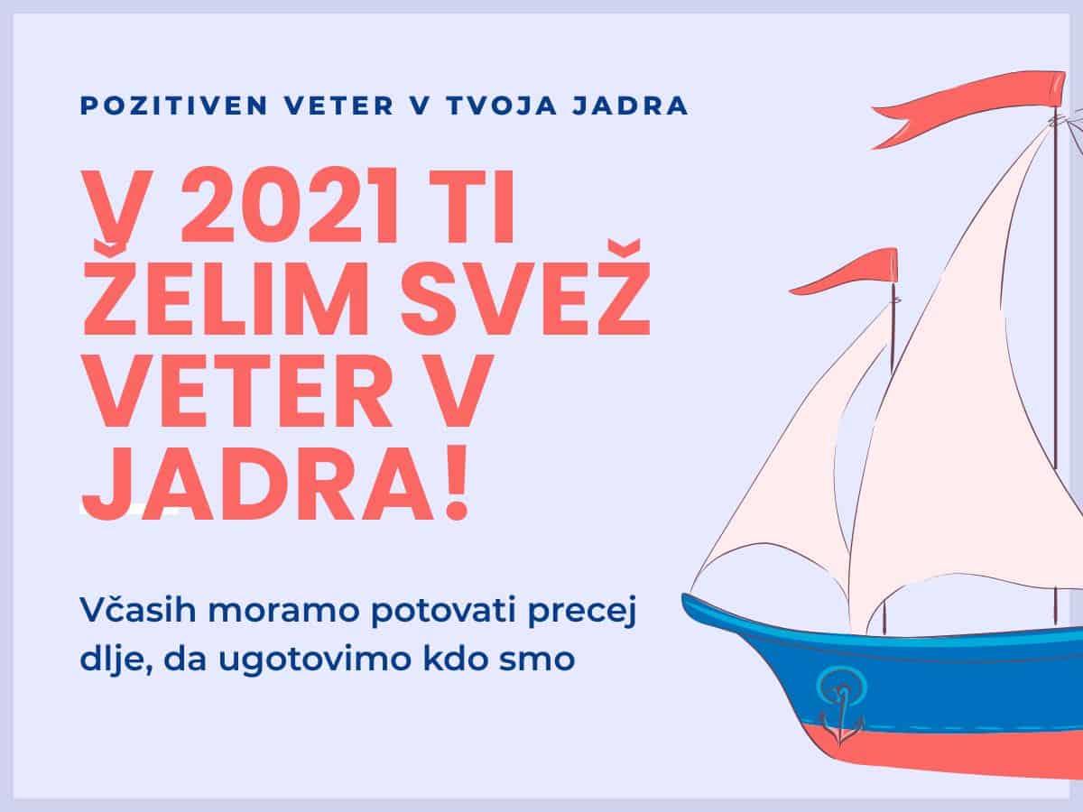 Novoletno voščilo 2021