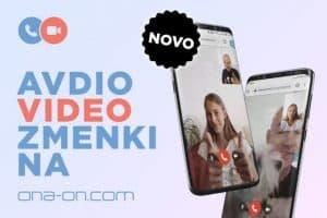 avdio video spletni zmenki